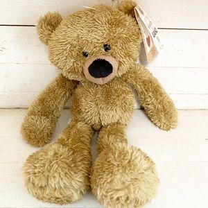 Ganz Wooly Soft Tan Plush Teddy Bear New